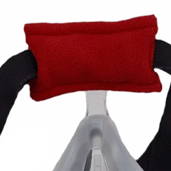 PAD A CHEEK Forehead Pad Style B in Micro Fleece