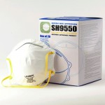 N95 Medical Unvalved Protective Face Mask 4 ply 95% Filtration