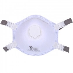 Laianzhi FFP3 Protective Face Mask with White Valved Particulate Respirator