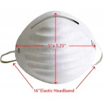 Universal Non-Toxic Disposable Dust Filter Safety Masks