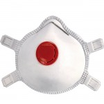 FFP3 Premium Quality Particulate Valved Cup Mask Respirator with Filter Layer