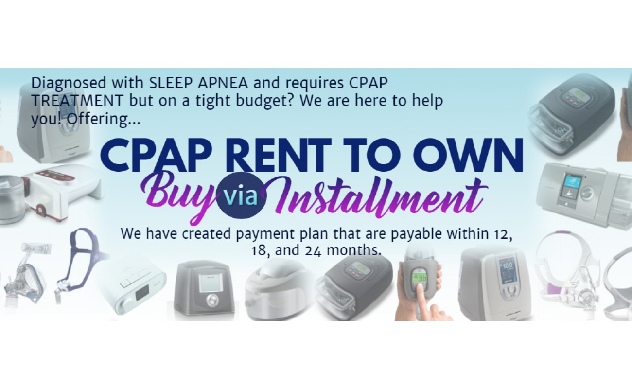 CPAP Rent To Own
