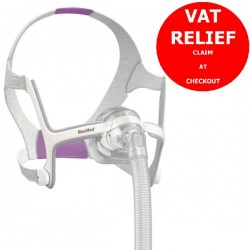 Airtouch N20 For Her Nasal Mask & Headgear by ResMed