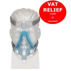 Amara Gel Full Face Mask with Headgear by Philips Respironics