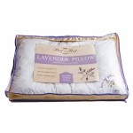 Best in Rest Lavender Bed Pillow Made of DRY LAVENDER FLOWERS