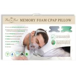 Best in Rest Memory Foam CPAP Pillow with Green Tea Herbal Infusion
