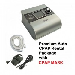 Premium Auto-CPAP Rental Package 1 - S9 Autoset & CPAP Mask