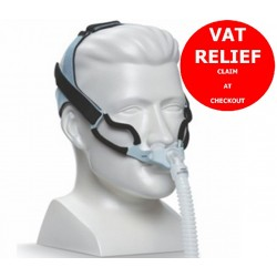 GoLife For Men Nasal Pillow Mask with Headgear by Respironics - FitPack All Sizes Included