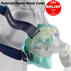 Mask Liner for Hybrid and Resmed Liberty CPAP Mask by Pad A Cheek