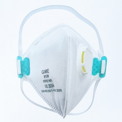 Fold Flat FFP2 Respirator Half Mask Face Cover by Gime