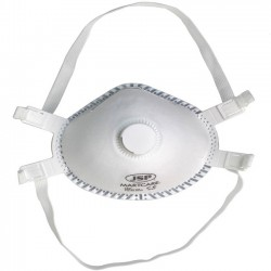 CE Certified FFP3 Valved Respirator JSP Martcare 99% Protection Face Mask