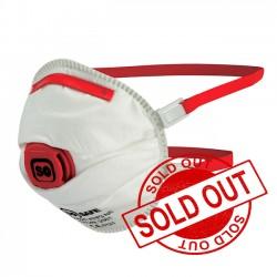 SoSafe FFP3 Valved Respirator Cup Face Mask