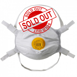 SUPERTOUCH Particulate Mask FFP3 VALVED Moulded Respirator Face Mask