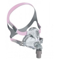 Quattro FX For Her Full Face Mask with Headgear by Resmed
