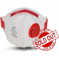 UCair UCFD-P3V Valved Fold Flat Particulate Mask