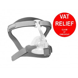 Viva Nasal CPAP Mask FitPack with Headgear by 3B Medical